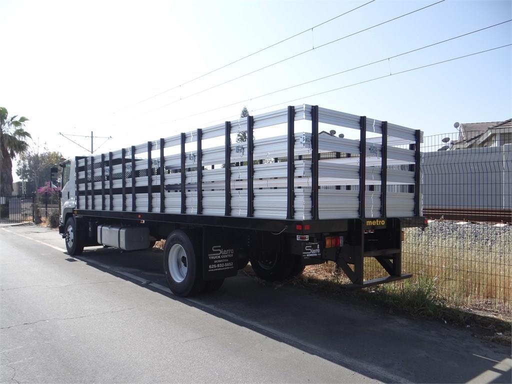 2018 LCF 6500XD Regular Cab 4x2,  Metro Truck Body Stake Bed #C157348 - photo 1