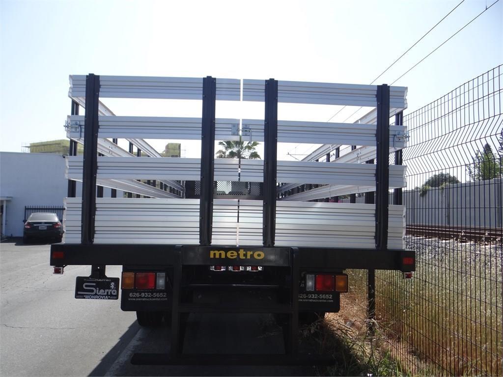 2018 LCF 6500XD Regular Cab 4x2,  Metro Truck Body Stake Bed #C157348 - photo 4