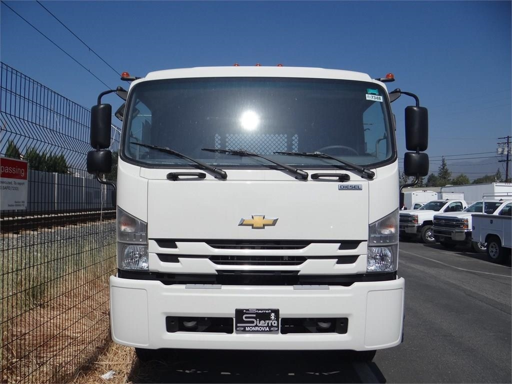 2018 LCF 6500XD Regular Cab 4x2,  Metro Truck Body Stake Bed #C157348 - photo 5