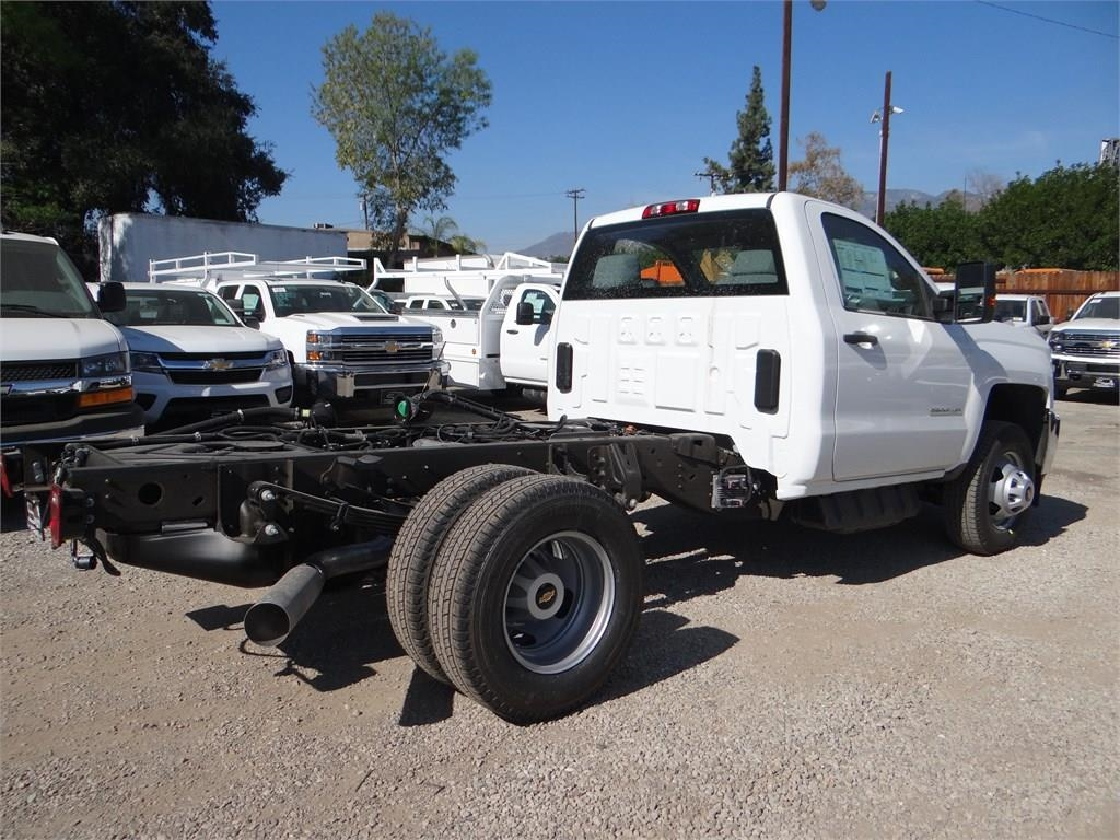 2018 Silverado 3500 Regular Cab 4x2,  Cab Chassis #C157350 - photo 1