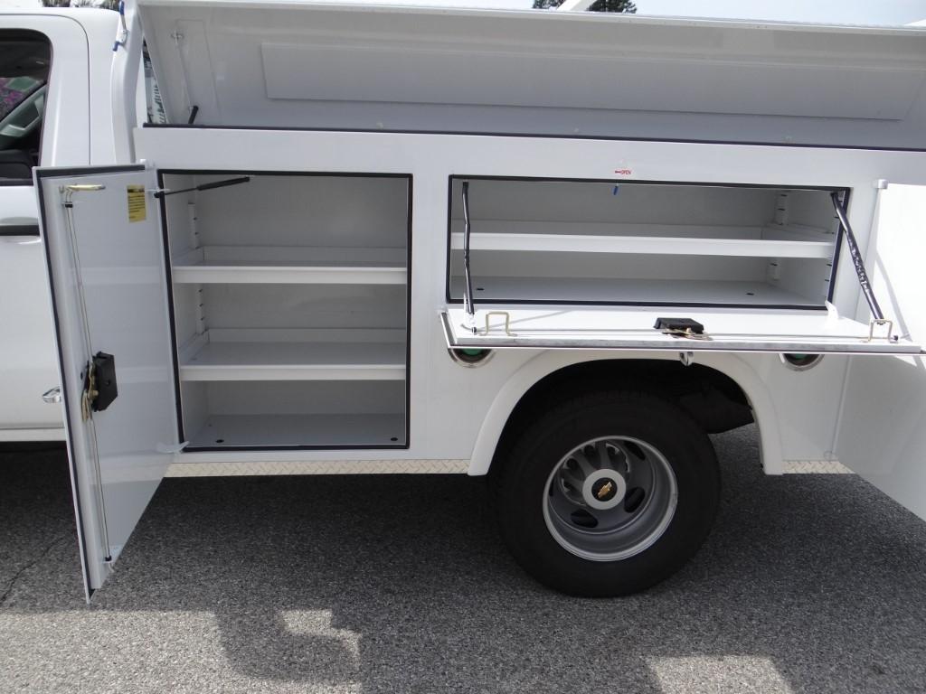 2018 Silverado 3500 Regular Cab 4x2,  Royal Service Body #C157350 - photo 12