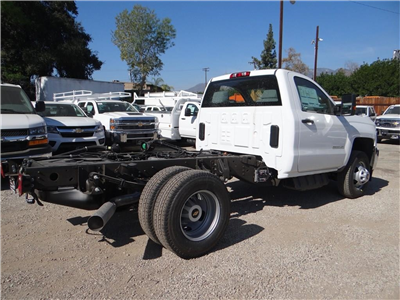 2018 Silverado 3500 Regular Cab 4x2,  Cab Chassis #C157350 - photo 2