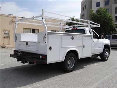 2018 Silverado 3500 Regular Cab 4x2,  Royal Service Body #C157350 - photo 2