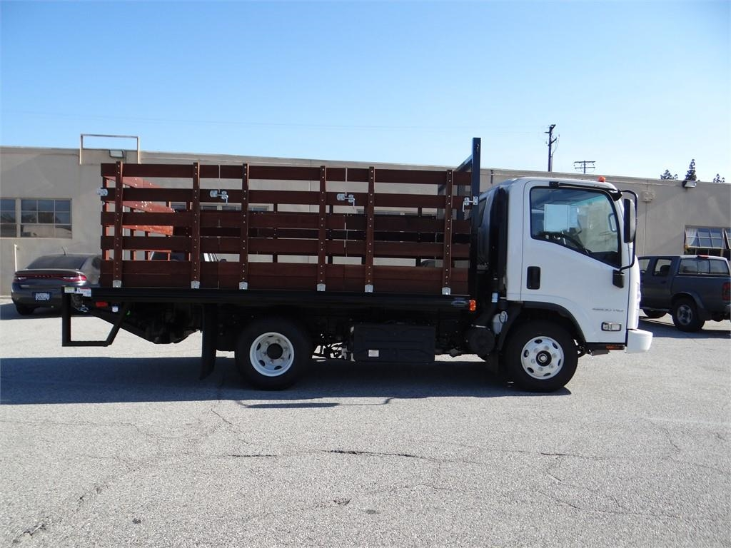 2018 LCF 4500HD Regular Cab,  Martin's Quality Truck Body Stake Bed #C157541 - photo 3