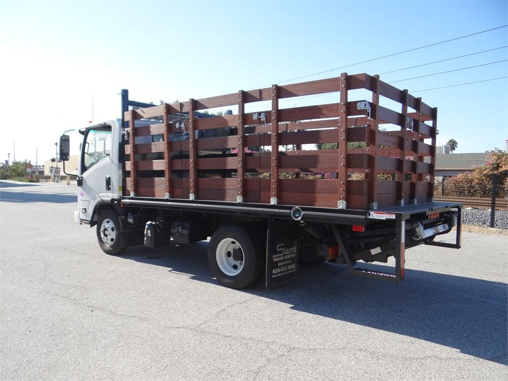 2018 LCF 4500HD Regular Cab,  Martin's Quality Truck Body Stake Bed #C157541 - photo 5