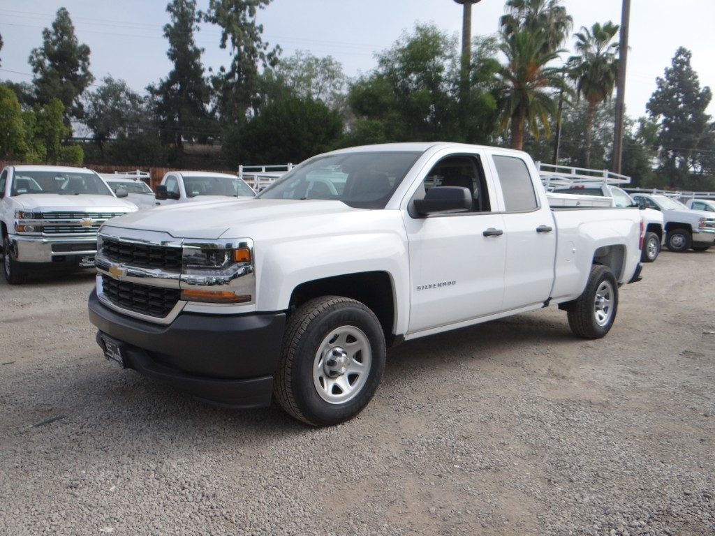 2018 Silverado 1500 Double Cab 4x2,  Pickup #C157603 - photo 7