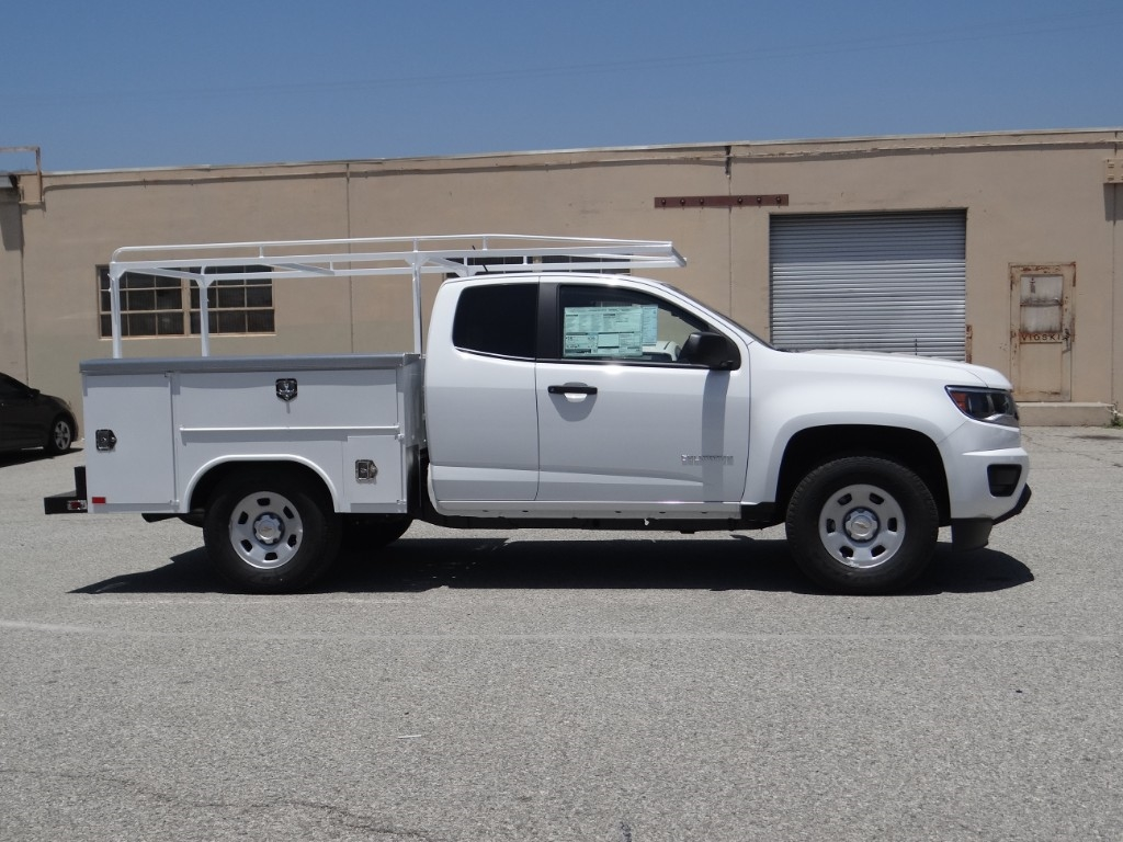 2018 Colorado Extended Cab 4x2,  Harbor Service Body #C157620 - photo 3