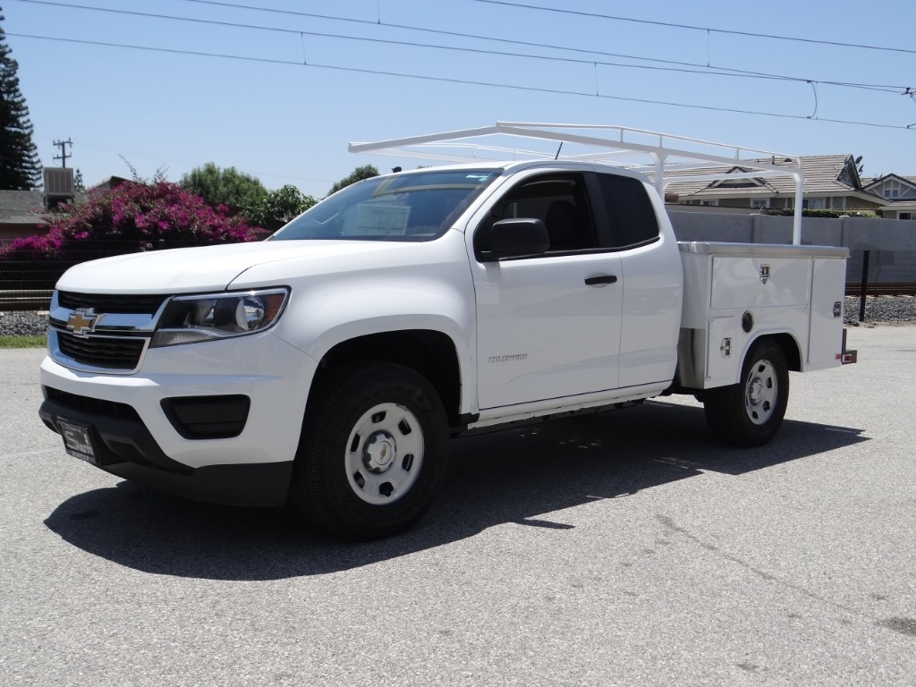 2018 Colorado Extended Cab 4x2,  Harbor Service Body #C157620 - photo 6