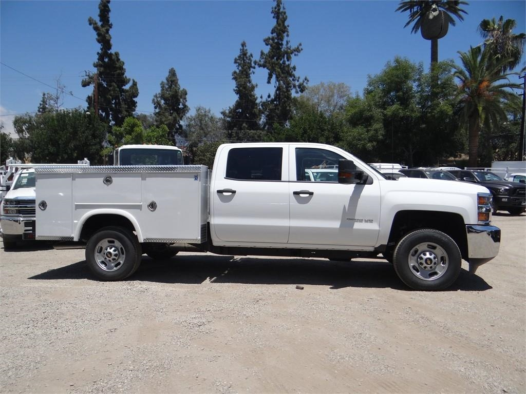2018 Silverado 2500 Crew Cab 4x2,  Royal Service Body #C157629 - photo 3