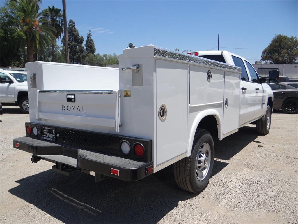 2018 Silverado 2500 Crew Cab 4x2,  Royal Service Body #C157629 - photo 2