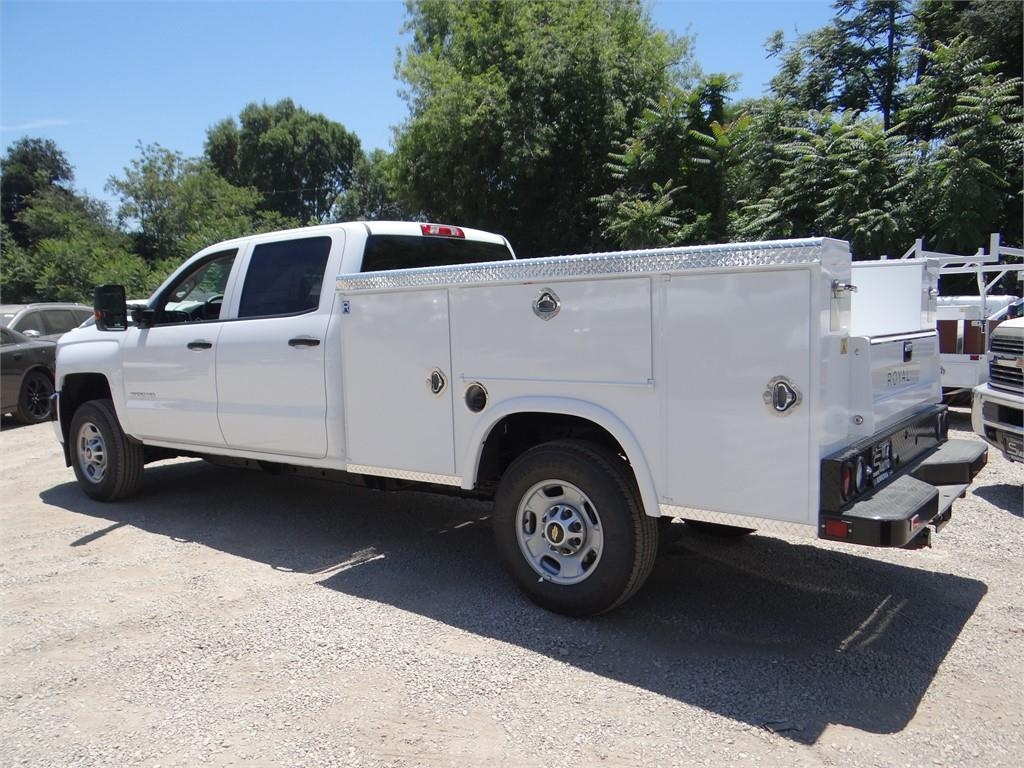 2018 Silverado 2500 Crew Cab 4x2,  Royal Service Body #C157629 - photo 5