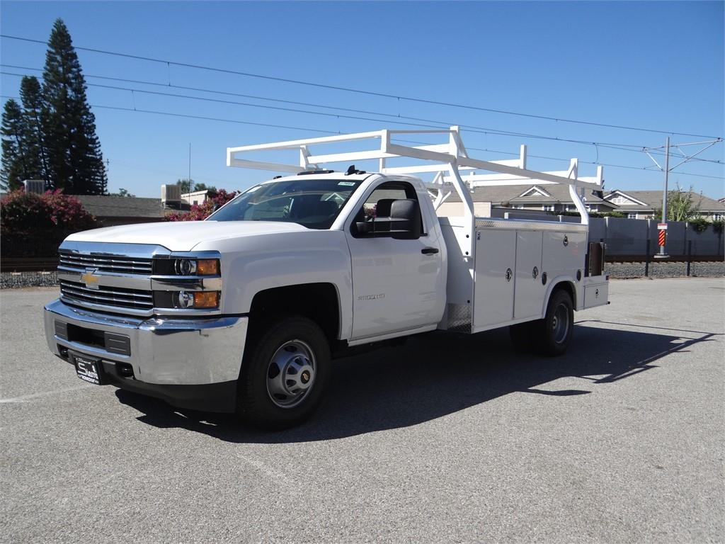 2018 Silverado 3500 Regular Cab 4x2,  Royal Combo Body #C157662 - photo 7