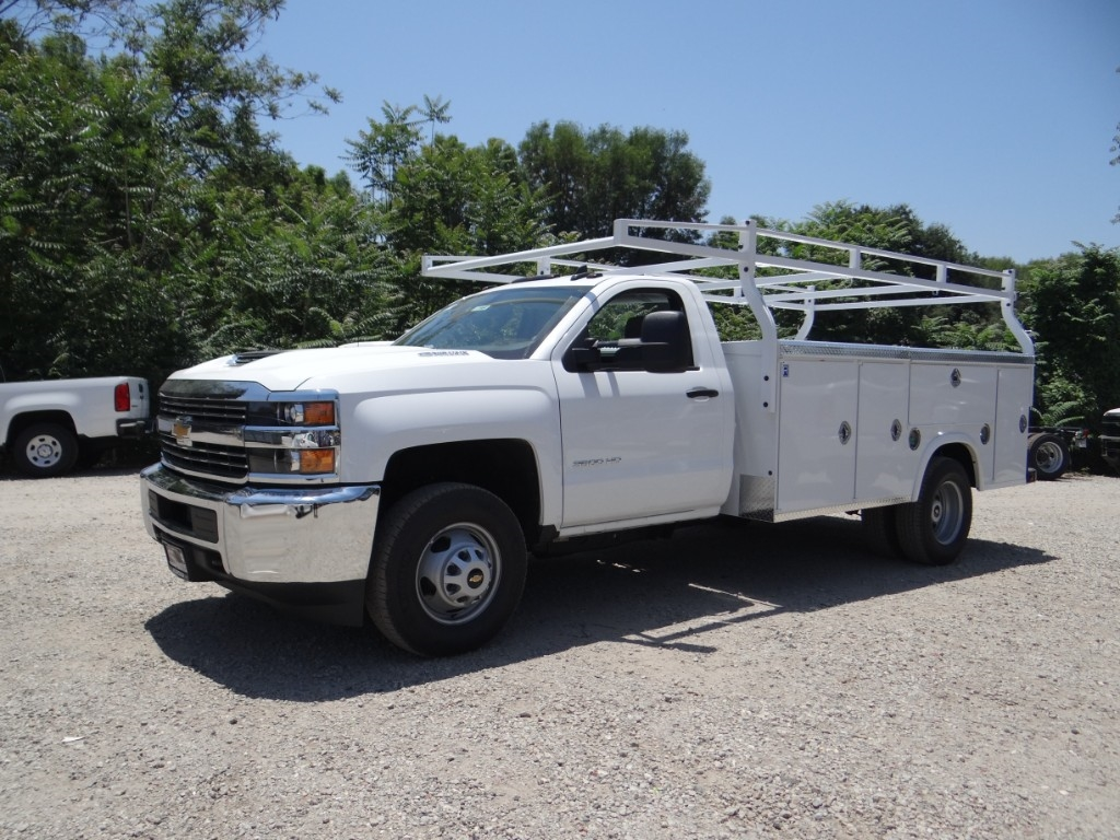 2018 Silverado 3500 Regular Cab 4x2,  Royal Service Body #C157663 - photo 7