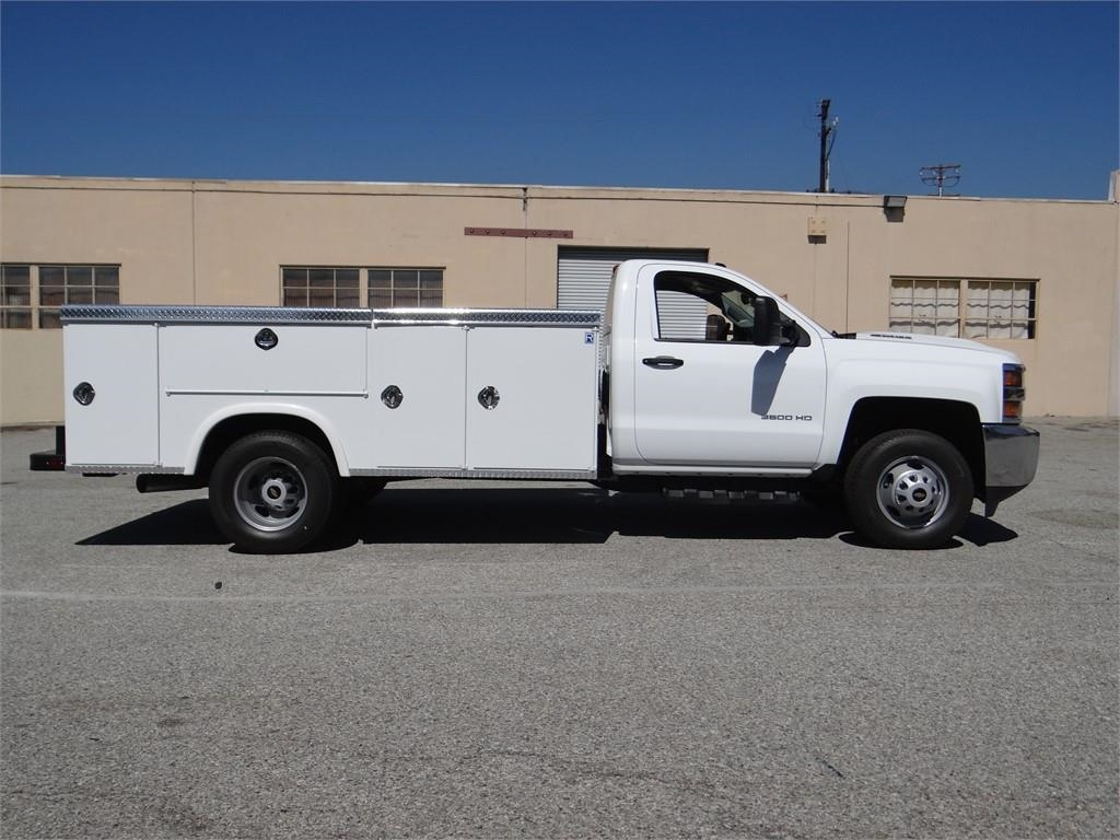 2018 Silverado 3500 Regular Cab 4x2,  Royal Service Body #C157664 - photo 3