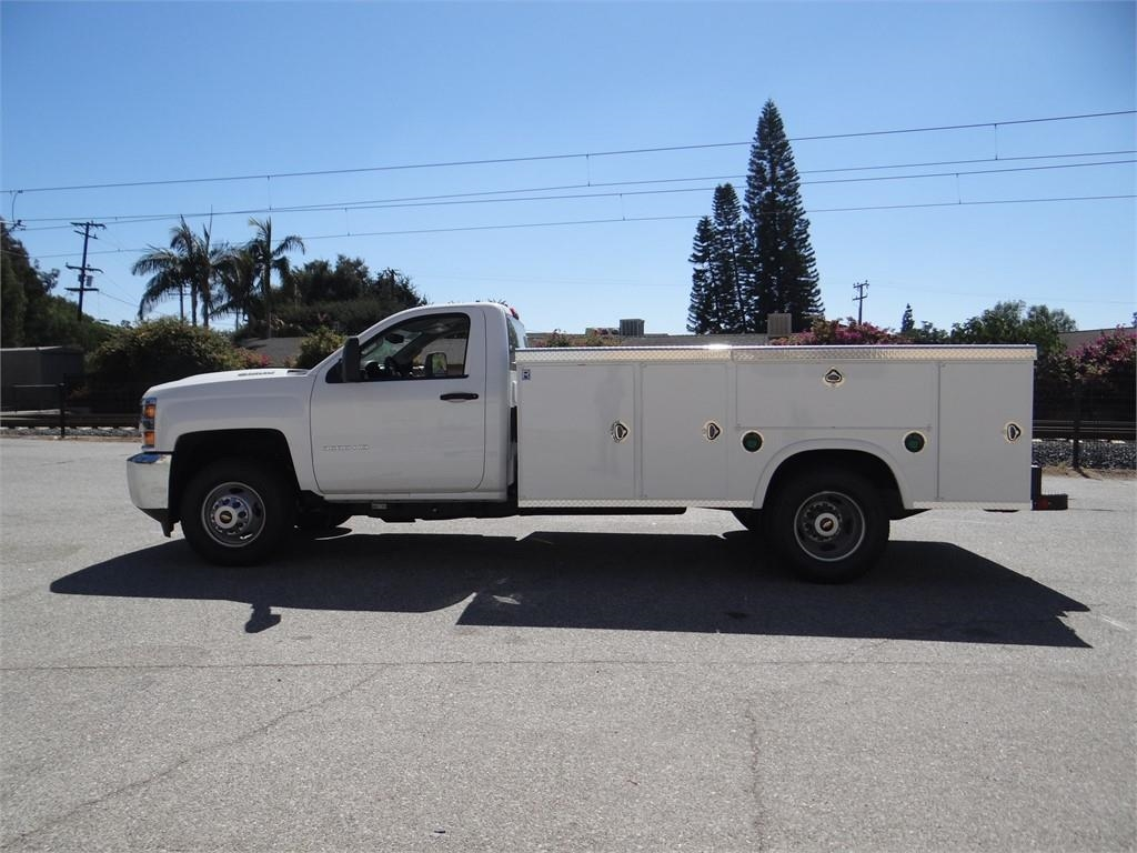 2018 Silverado 3500 Regular Cab 4x2,  Royal Service Body #C157664 - photo 6