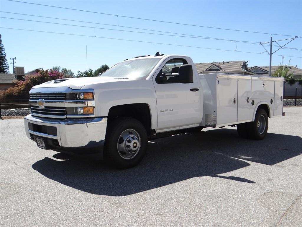 2018 Silverado 3500 Regular Cab 4x2,  Royal Service Body #C157664 - photo 7