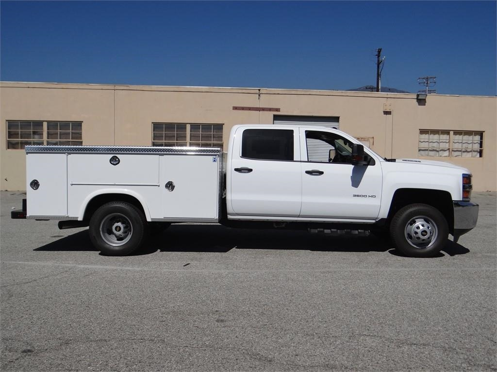 2018 Silverado 3500 Crew Cab 4x2,  Royal Service Body #C157705 - photo 3