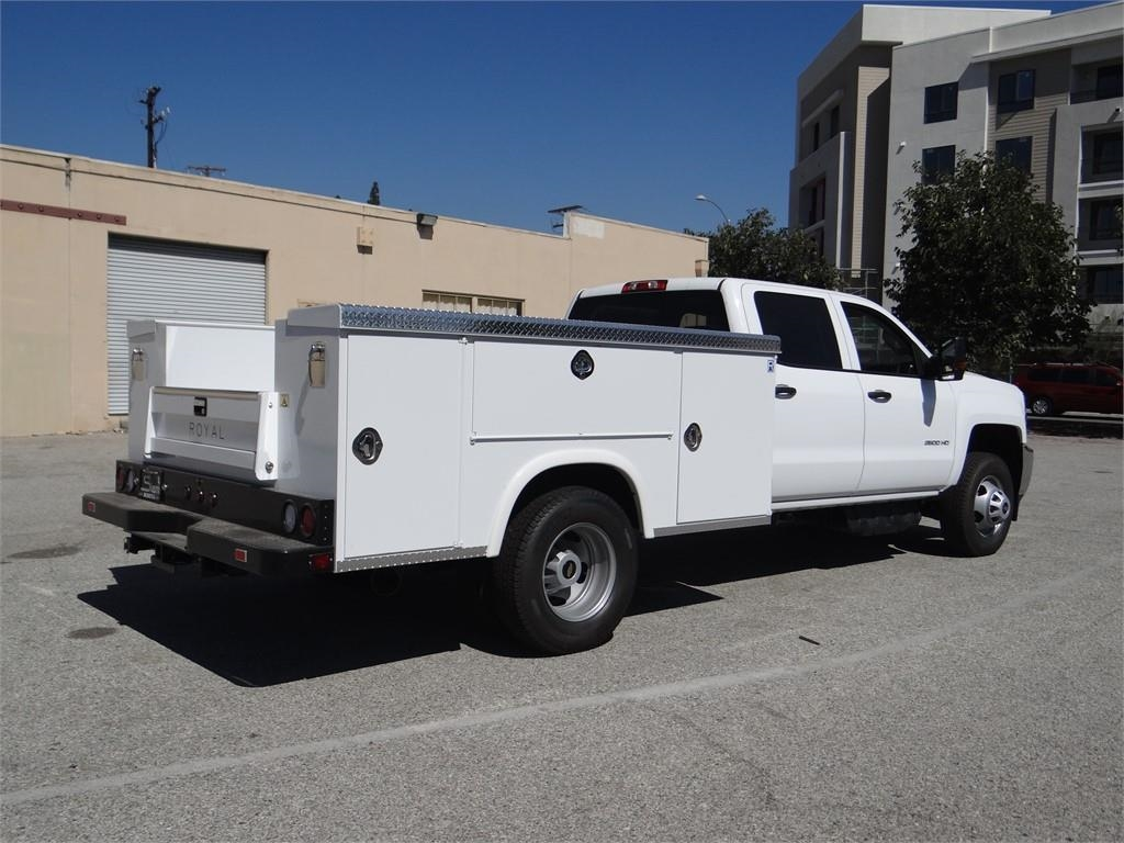 2018 Silverado 3500 Crew Cab 4x2,  Royal Service Body #C157705 - photo 2