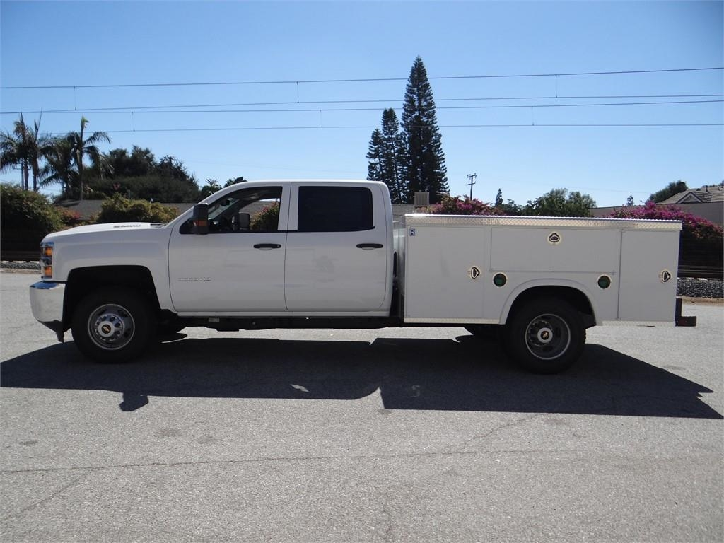 2018 Silverado 3500 Crew Cab 4x2,  Royal Service Body #C157705 - photo 6