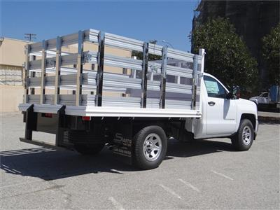 2018 Silverado 1500 Regular Cab 4x2,  Martin's Quality Truck Body Stake Bed #C157786 - photo 2