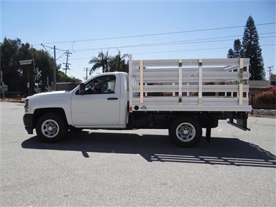 2018 Silverado 1500 Regular Cab 4x2,  Martin's Quality Truck Body Stake Bed #C157786 - photo 6