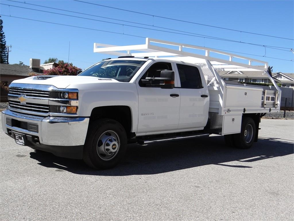 2018 Silverado 3500 Crew Cab 4x2,  Martin's Quality Truck Body Contractor Body #C157806 - photo 7
