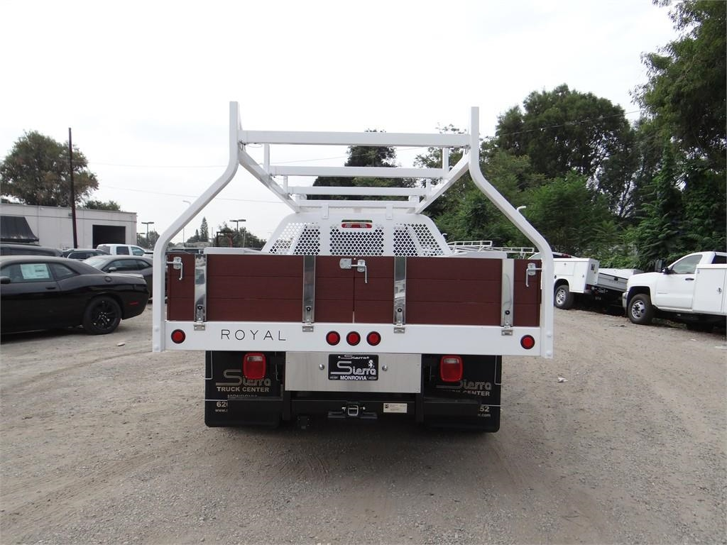 2018 Silverado 3500 Regular Cab 4x2,  Royal Contractor Body #C157853 - photo 4