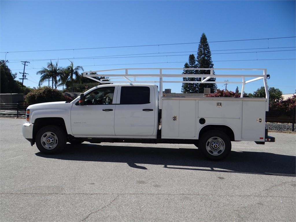2018 Silverado 2500 Crew Cab 4x2,  Harbor Service Body #C157914 - photo 6