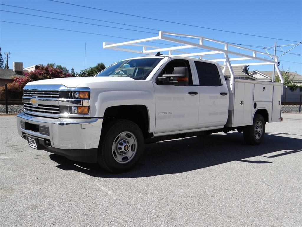 2018 Silverado 2500 Crew Cab 4x2,  Harbor Service Body #C157914 - photo 7