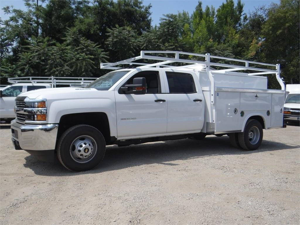 2018 Silverado 3500 Crew Cab 4x2,  Royal Service Body #C157915 - photo 6