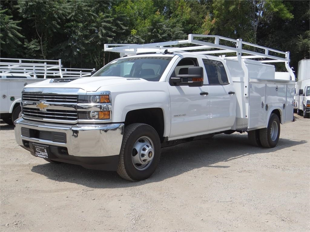2018 Silverado 3500 Crew Cab 4x2,  Royal Service Body #C157915 - photo 7