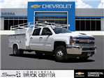 2018 Silverado 3500 Crew Cab 4x2,  Royal Service Body #C157915 - photo 1