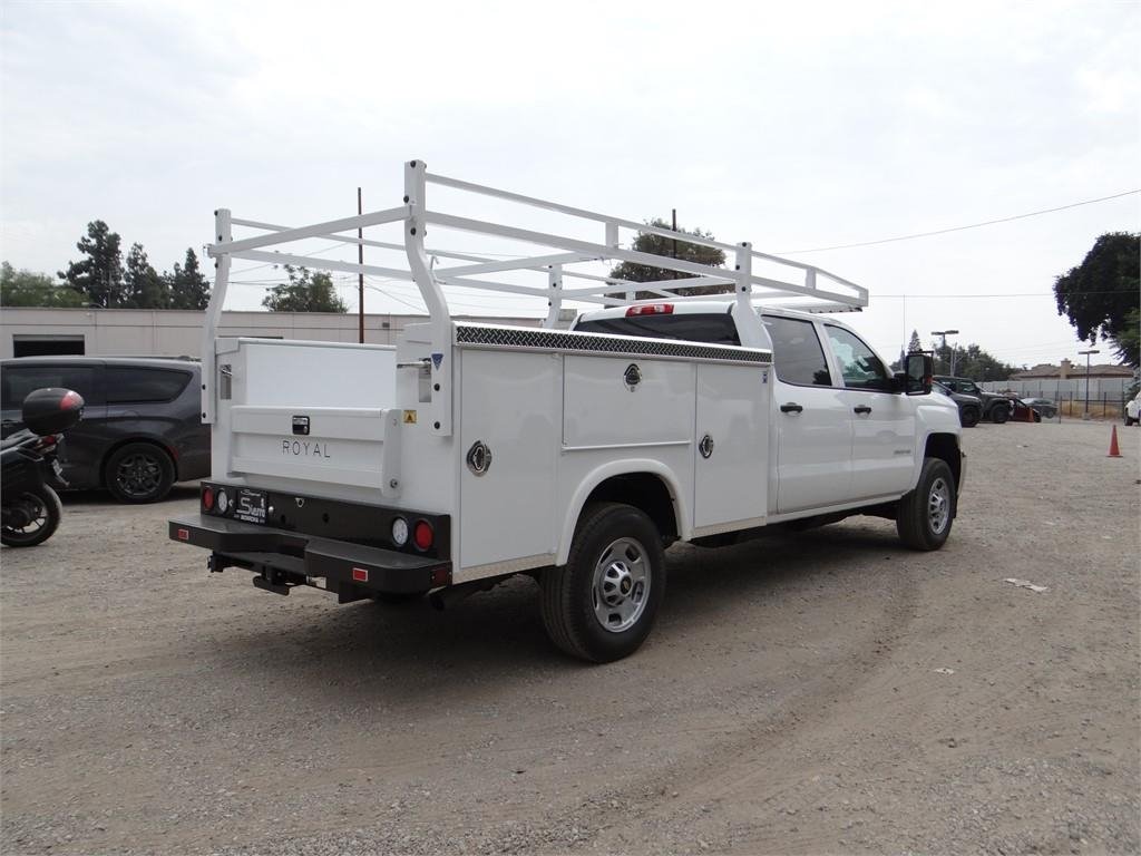 2018 Silverado 2500 Crew Cab 4x2,  Royal Service Body #C158023 - photo 2