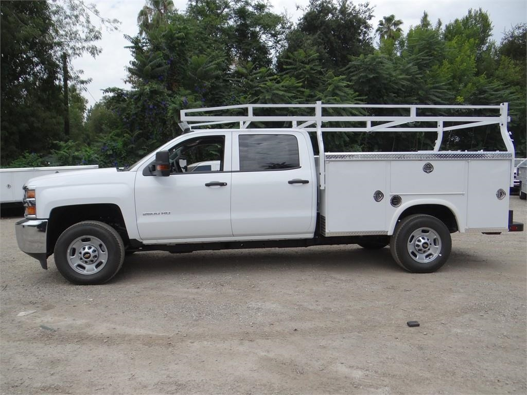 2018 Silverado 2500 Crew Cab 4x2,  Royal Service Body #C158023 - photo 6