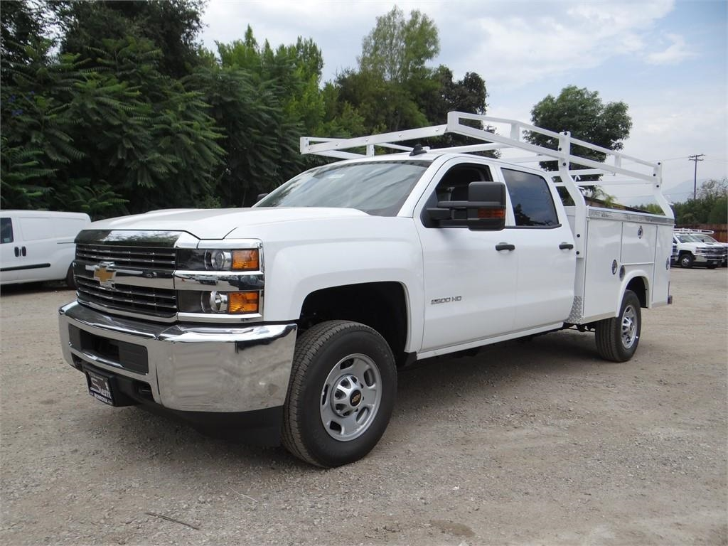 2018 Silverado 2500 Crew Cab 4x2,  Royal Service Body #C158023 - photo 7