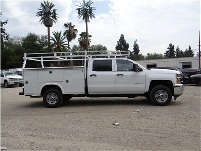 2018 Silverado 2500 Crew Cab 4x2,  Royal Service Body #C158023 - photo 3
