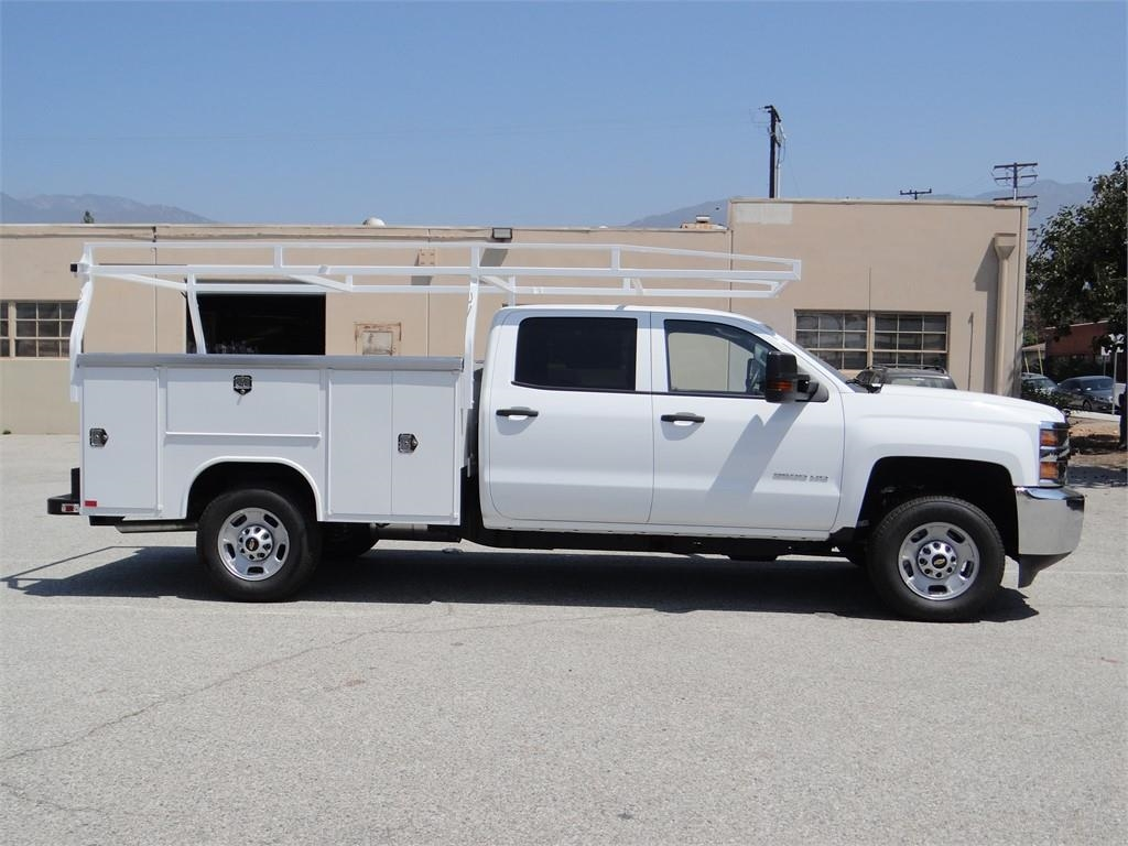 2018 Silverado 2500 Crew Cab 4x2,  Harbor Service Body #C158029 - photo 3