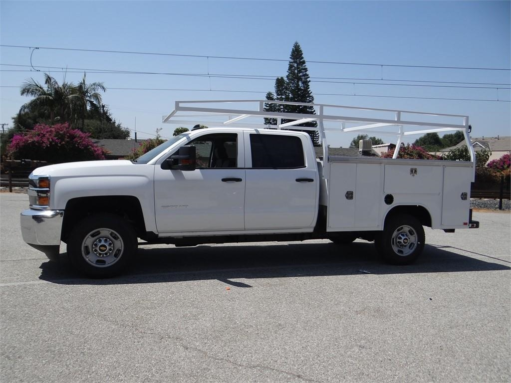 2018 Silverado 2500 Crew Cab 4x2,  Harbor Service Body #C158029 - photo 6
