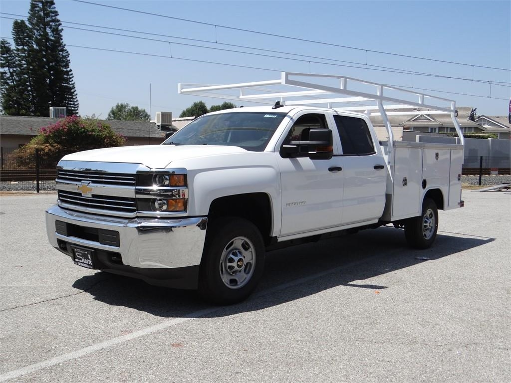 2018 Silverado 2500 Crew Cab 4x2,  Harbor Service Body #C158029 - photo 7