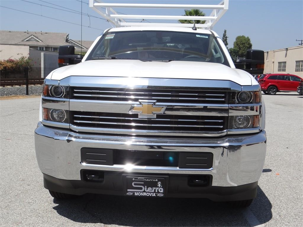 2018 Silverado 2500 Crew Cab 4x2,  Harbor Service Body #C158029 - photo 8