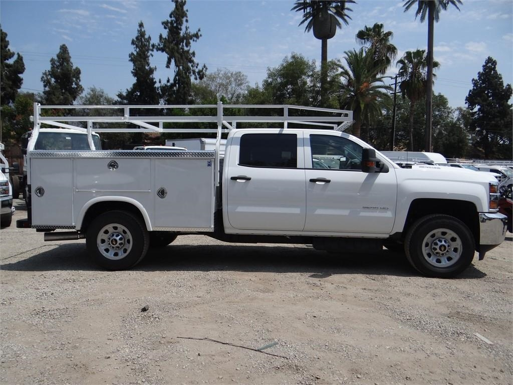 2019 Silverado 3500 Crew Cab 4x2,  Royal Service Body #C158049 - photo 3