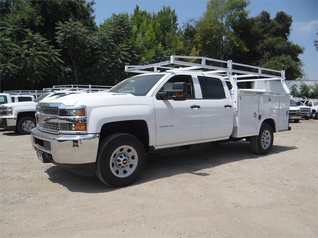 2019 Silverado 3500 Crew Cab 4x2,  Royal Service Body #C158049 - photo 7