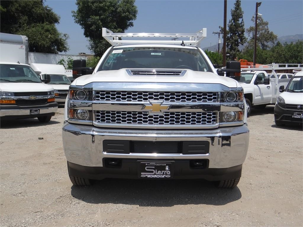 2019 Silverado 3500 Crew Cab 4x2,  Royal Service Body #C158049 - photo 8