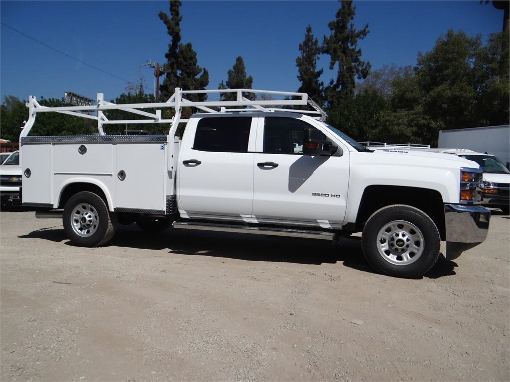 2019 Silverado 3500 Crew Cab 4x2,  Royal Service Body #C158233 - photo 3