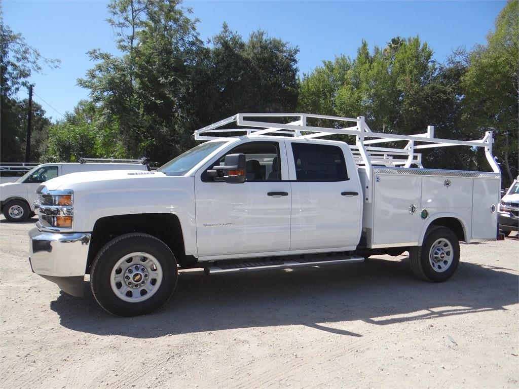 2019 Silverado 3500 Crew Cab 4x2,  Royal Service Body #C158233 - photo 6