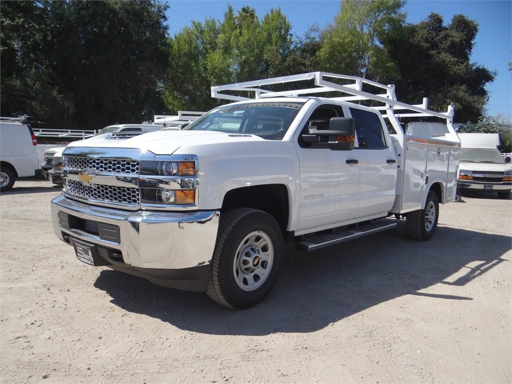 2019 Silverado 3500 Crew Cab 4x2,  Royal Service Body #C158233 - photo 7