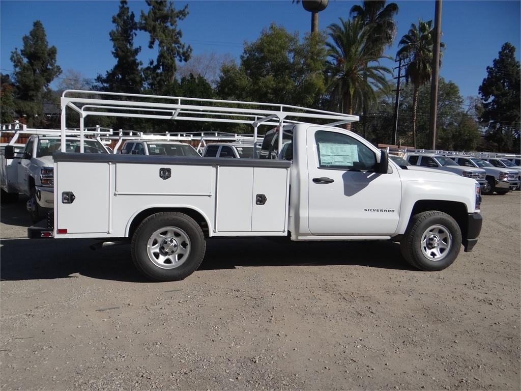 2018 Silverado 1500 Regular Cab 4x2,  Harbor Service Body #C158258 - photo 3