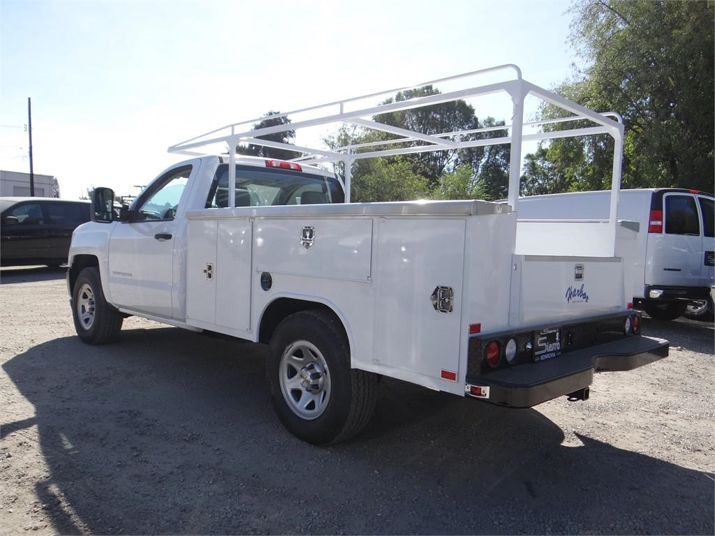 2018 Silverado 1500 Regular Cab 4x2,  Harbor Service Body #C158258 - photo 5