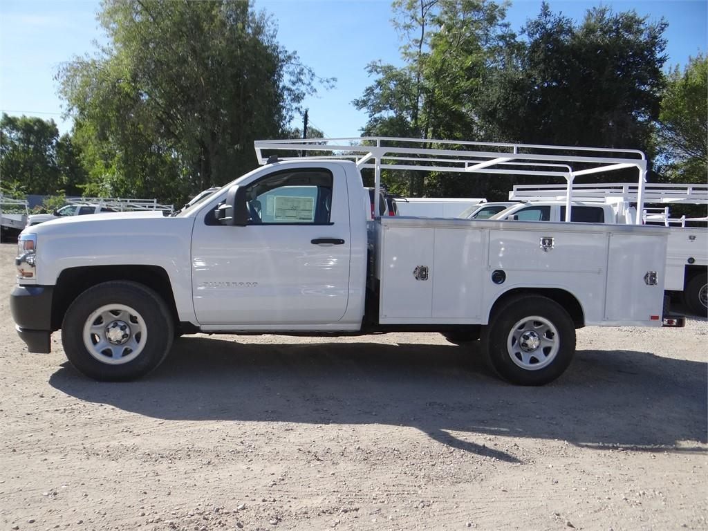 2018 Silverado 1500 Regular Cab 4x2,  Harbor Service Body #C158258 - photo 6