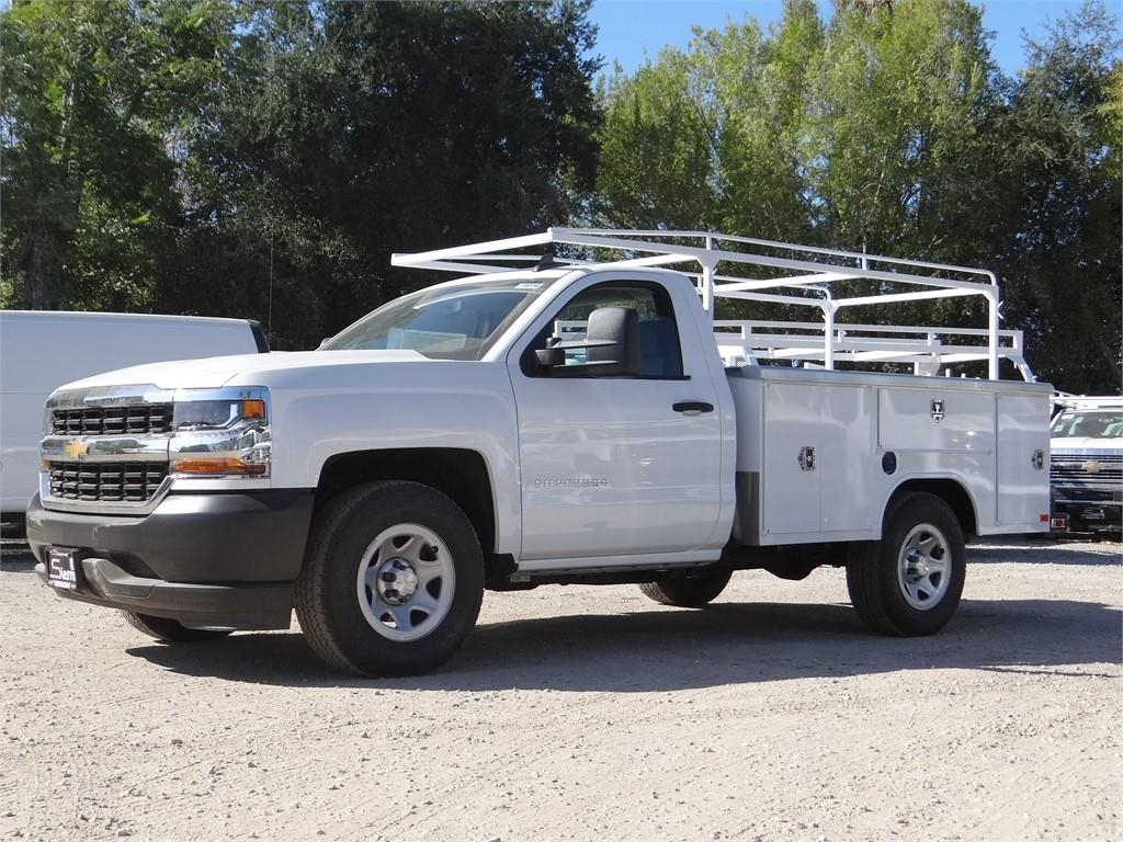 2018 Silverado 1500 Regular Cab 4x2,  Harbor Service Body #C158258 - photo 7